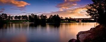 De Nepan rivier in Australie